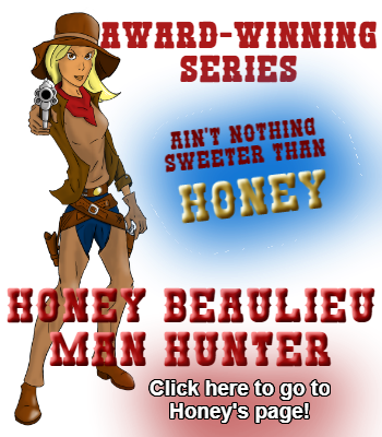 Hot Work in Fry Pan Gulch (Honey Beaulieu - Man Hunter) by Jacquie Rogers